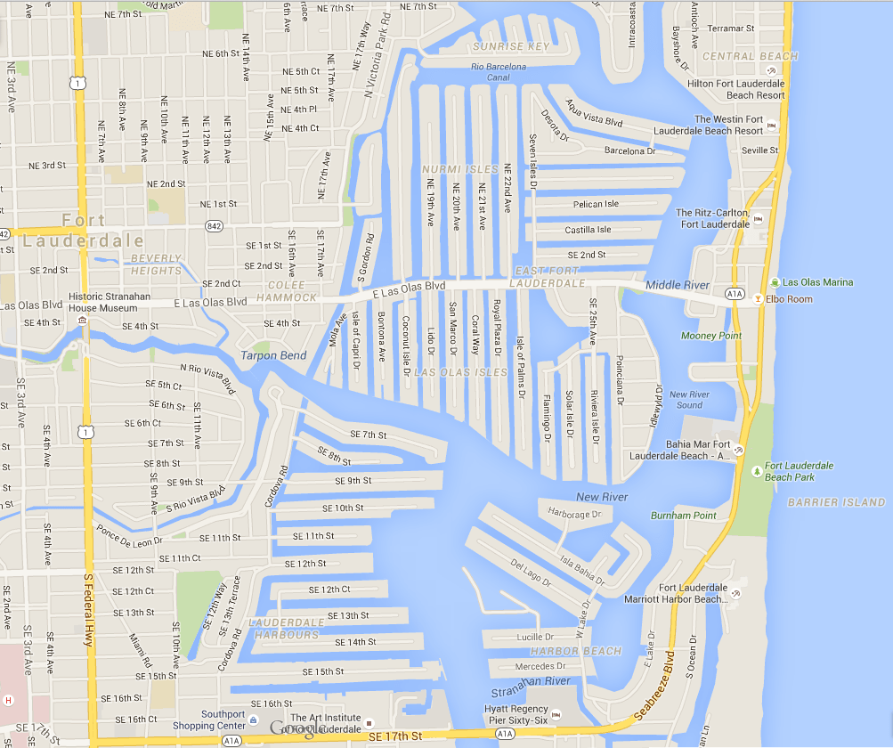 Fort Lauderdale's Canals